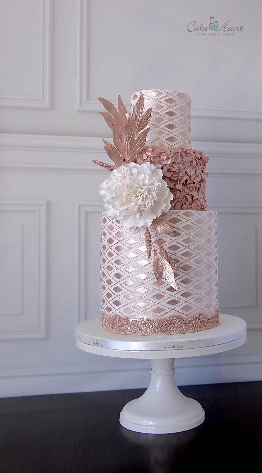 torta ruzove zlato