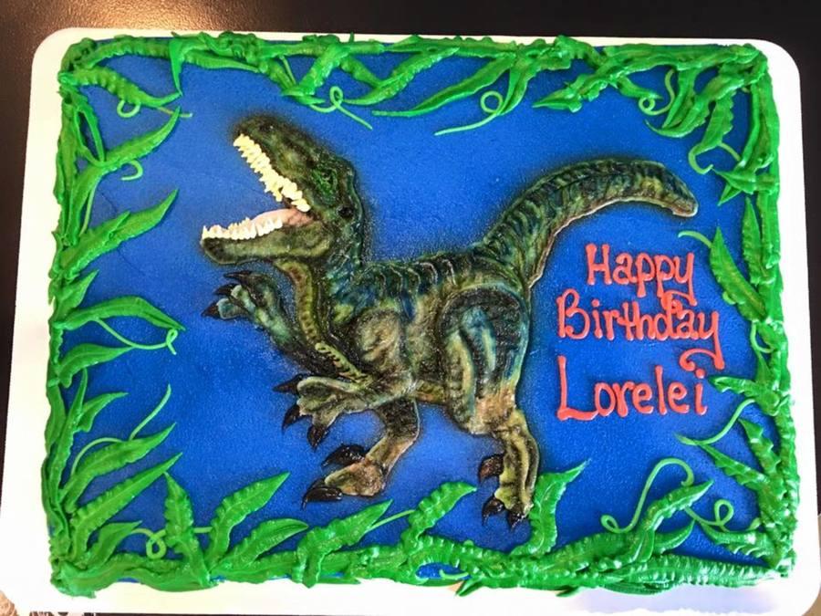 Buttercream Raptor Cake Cakecentral Com