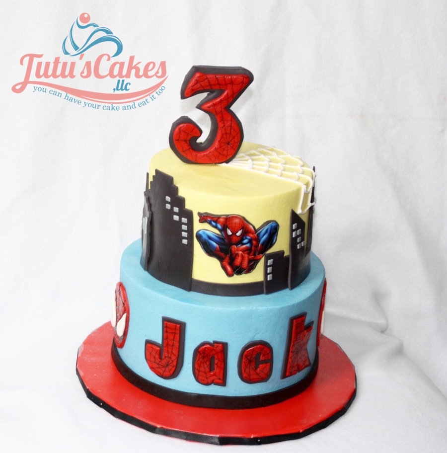 Spider Man/edible Image - CakeCentral.com