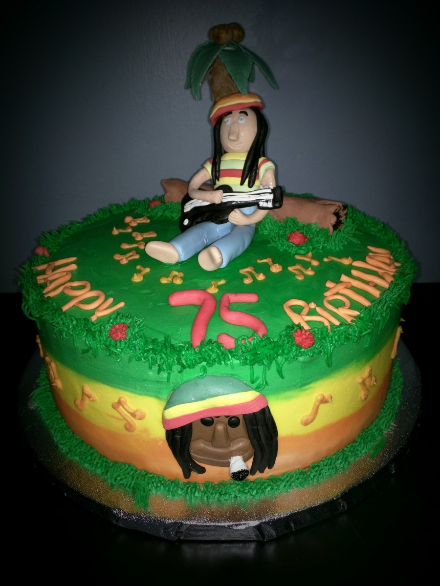 Reggae Themed Party Cake Cakecentral Com
