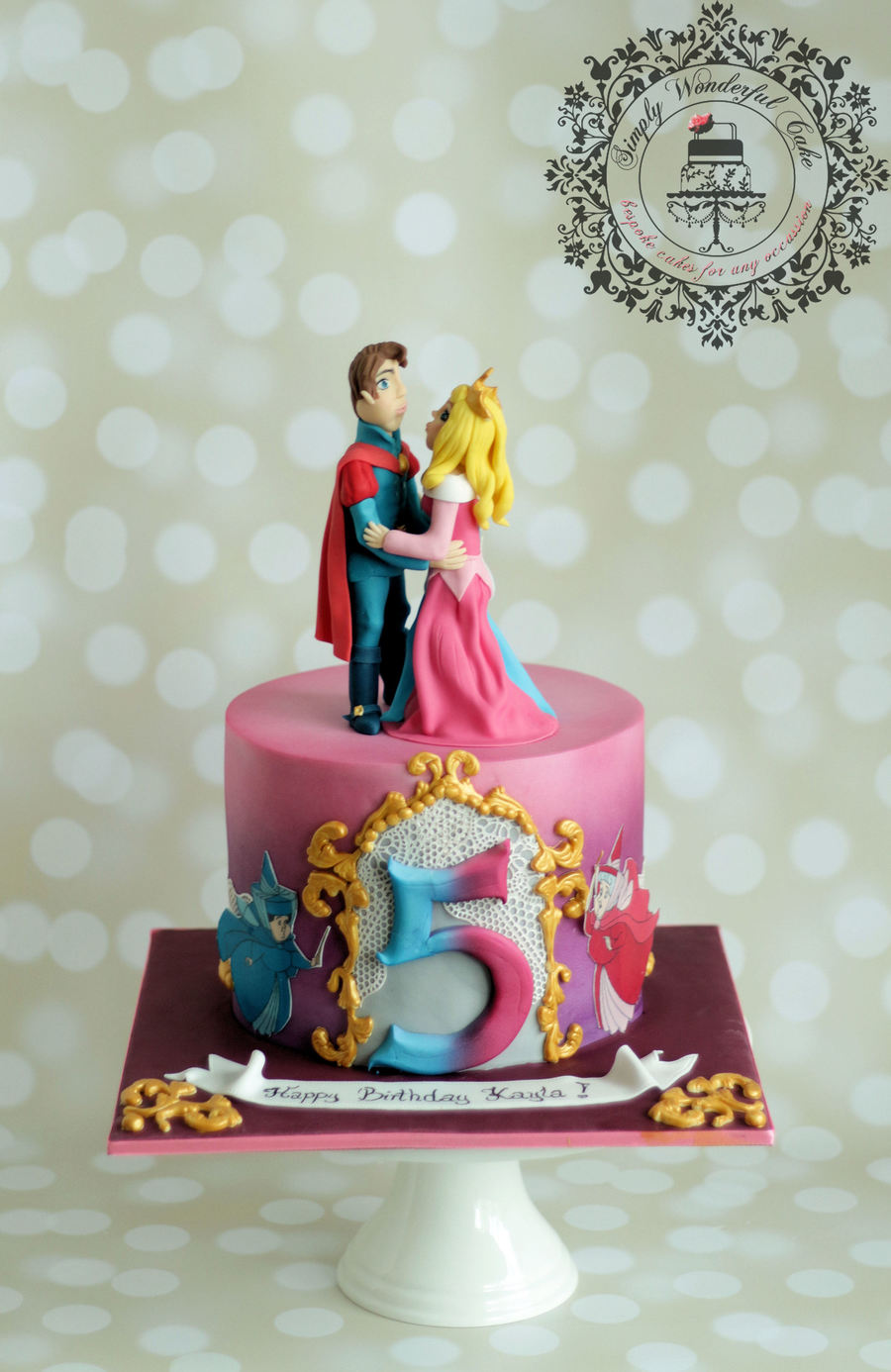 Sleeping Beauty Cake Cakecentral Com