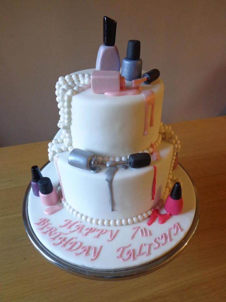 Images Of Nail Polish Cakes