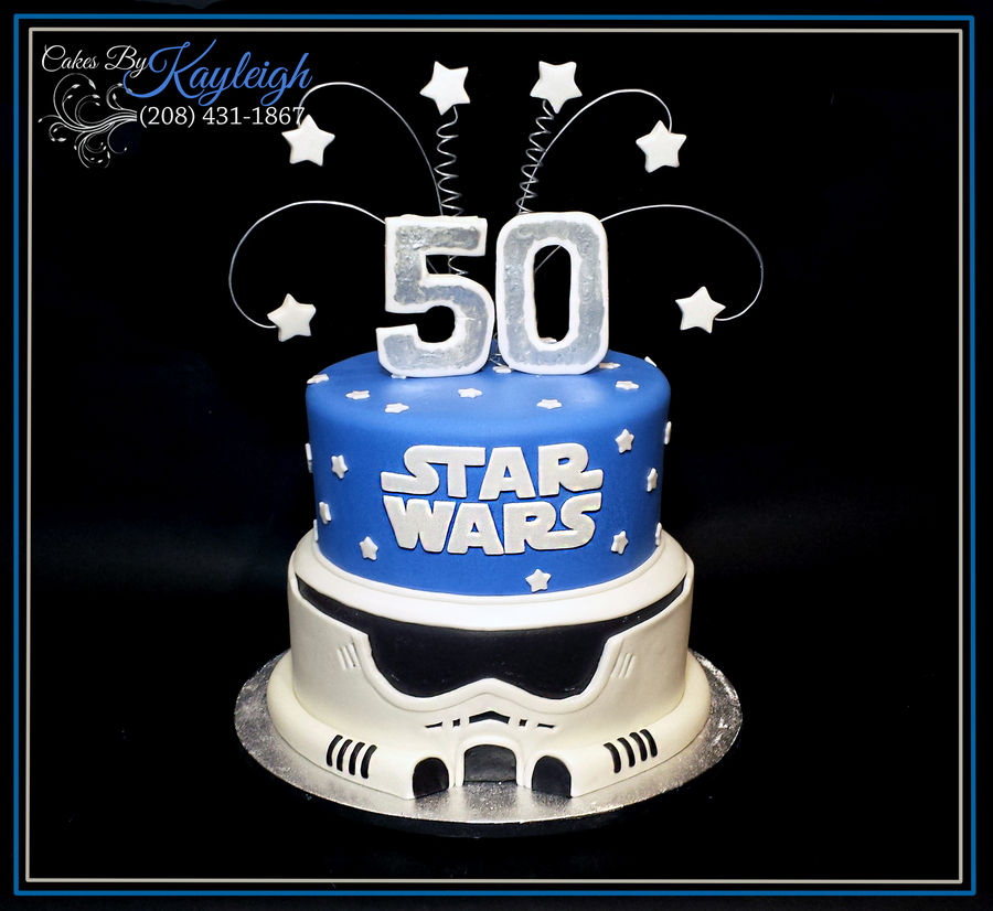Star Wars Birthday Cake on Cake Central