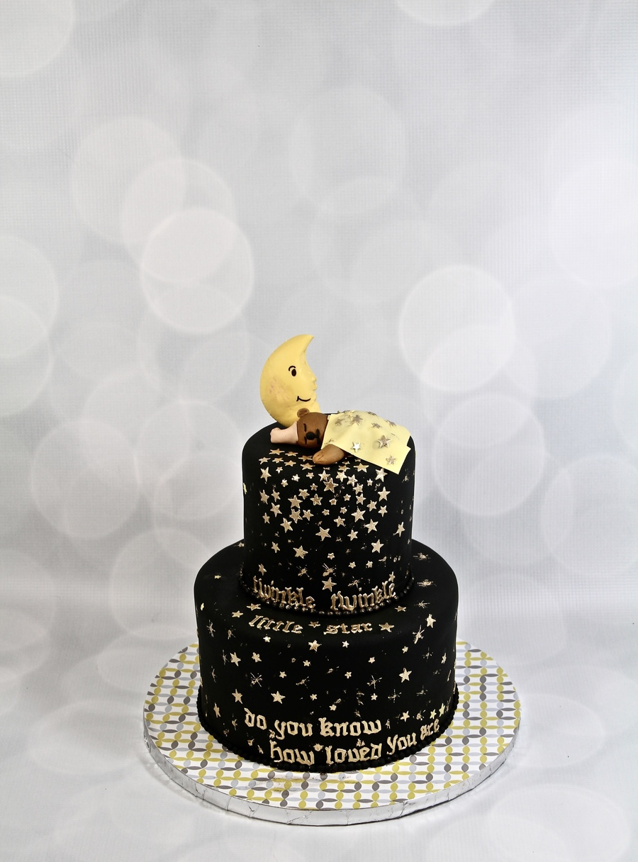 Twinkle Twinkle Little Star Cake Cakecentral Com