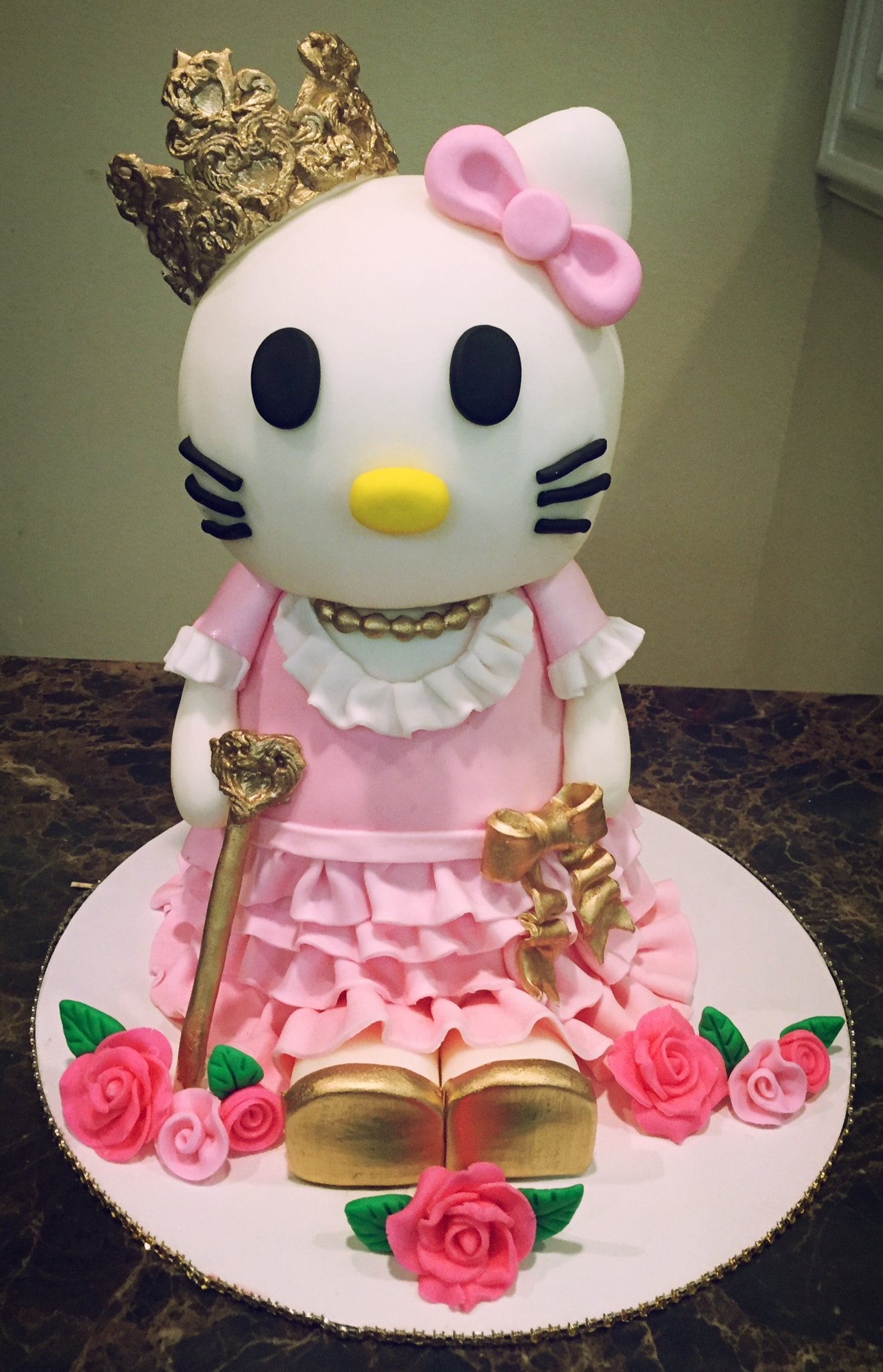 Princess Hello Kitty - CakeCentral.com
