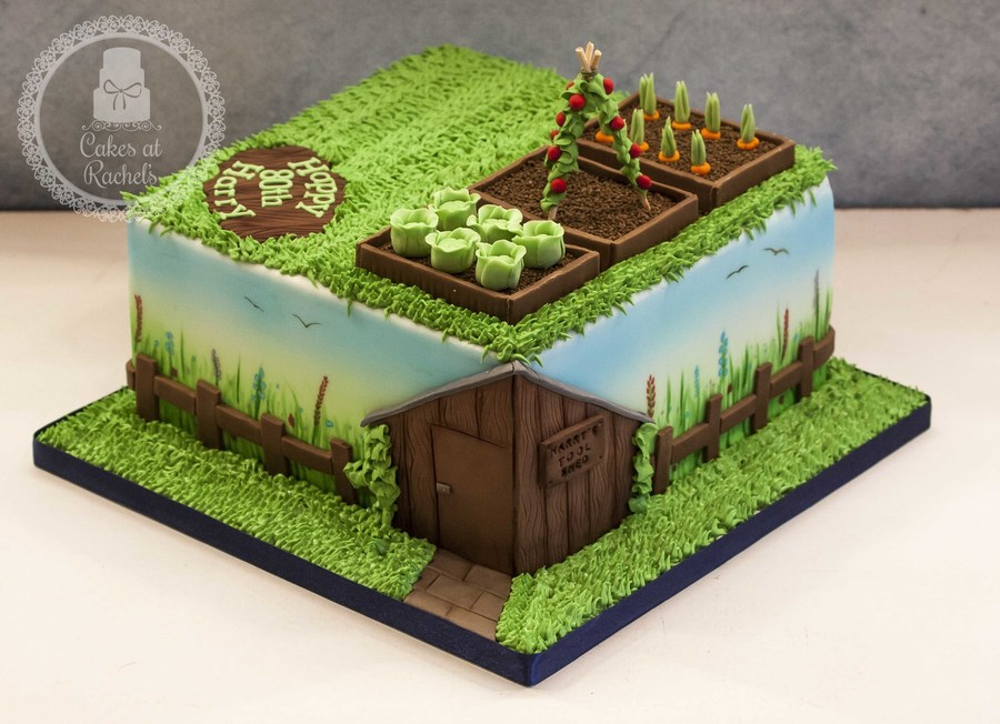 Harry's Garden - CakeCentral.com