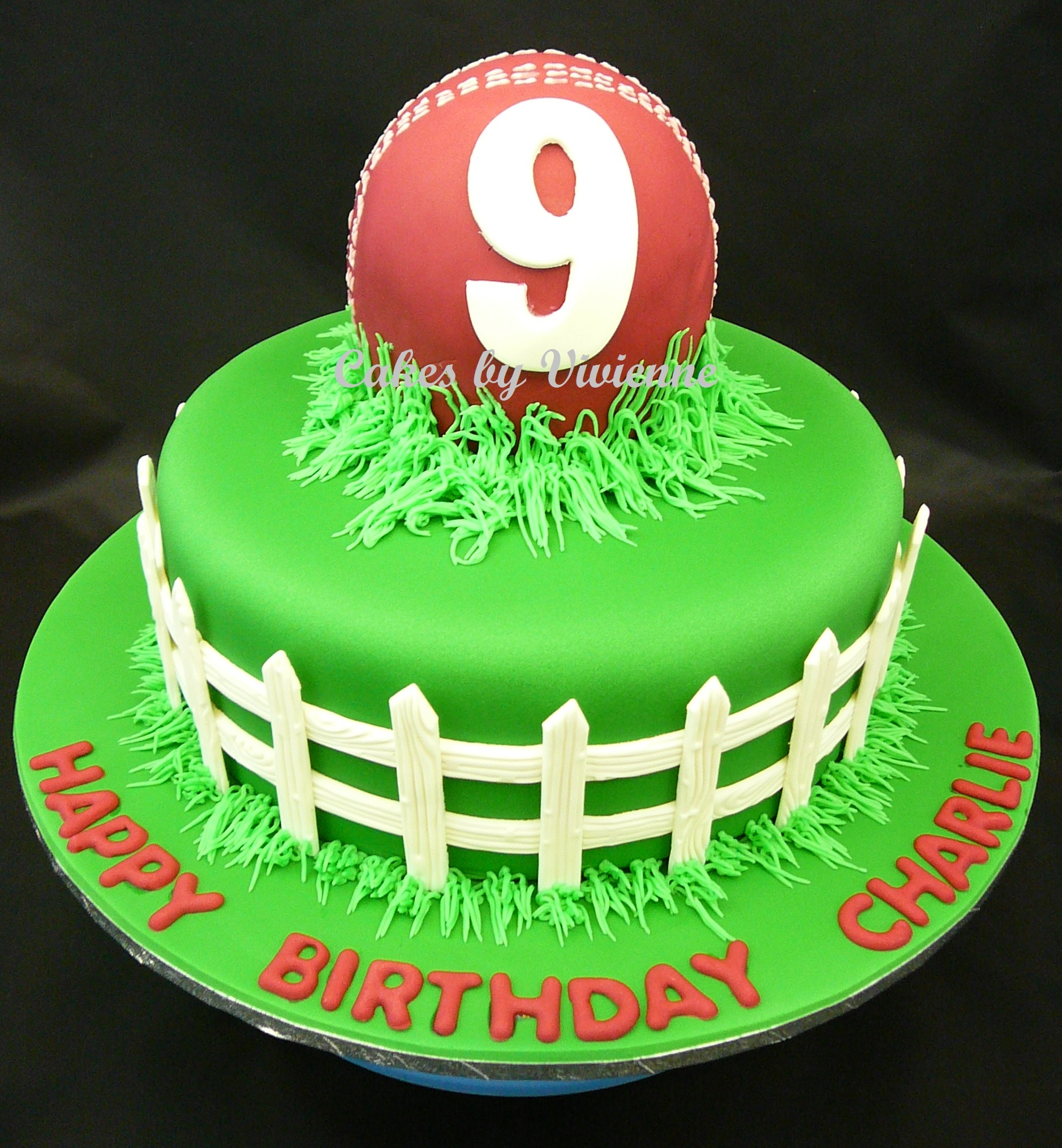Cake Decorating Cricket Figures : Cricket Birthday Cake - CakeCentral.com