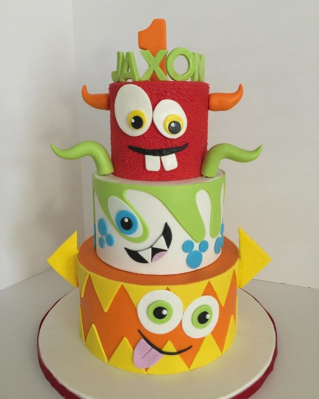 Cute Monsters Cake on Cake Central