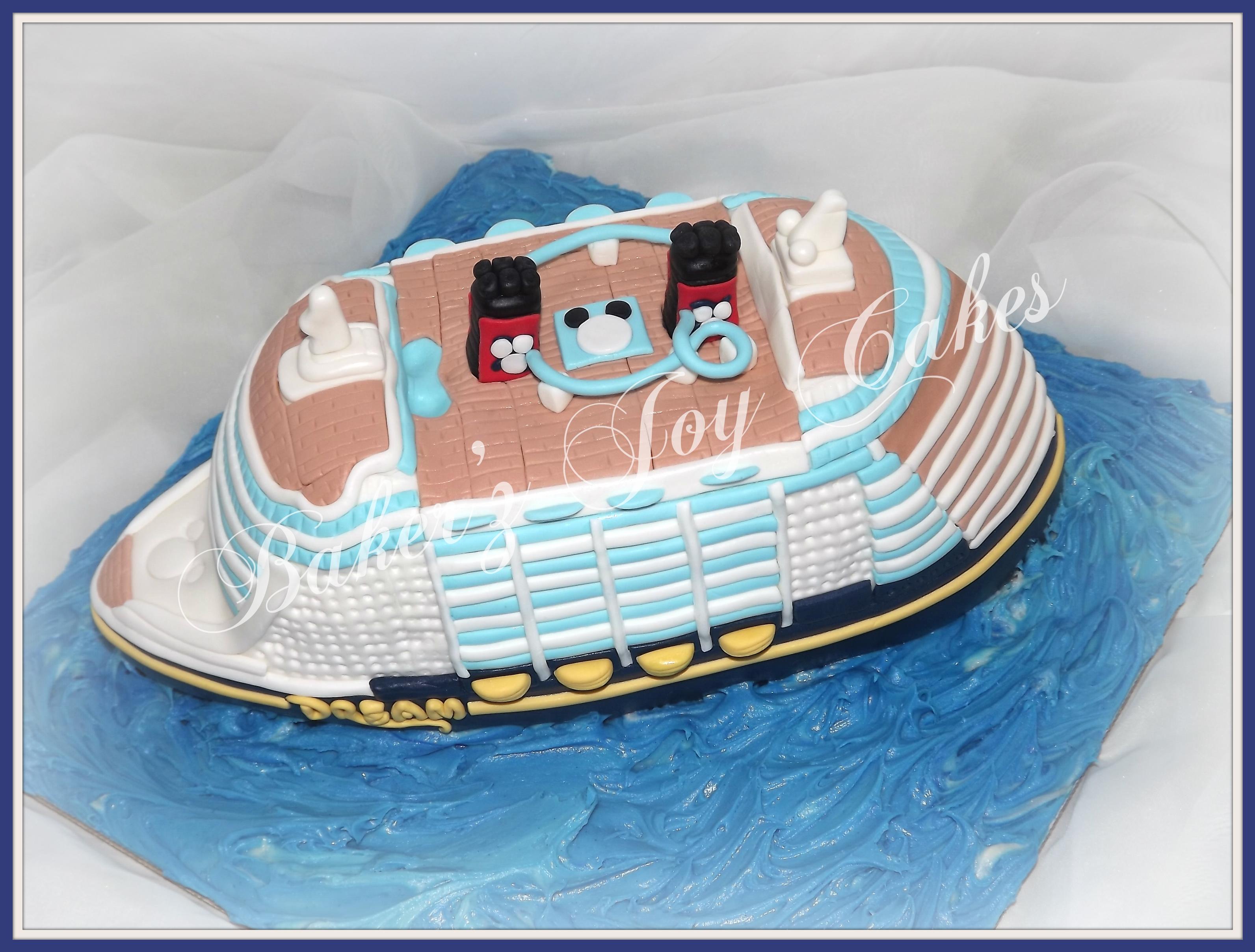 Disney Cruise Ship CakeCentralcom