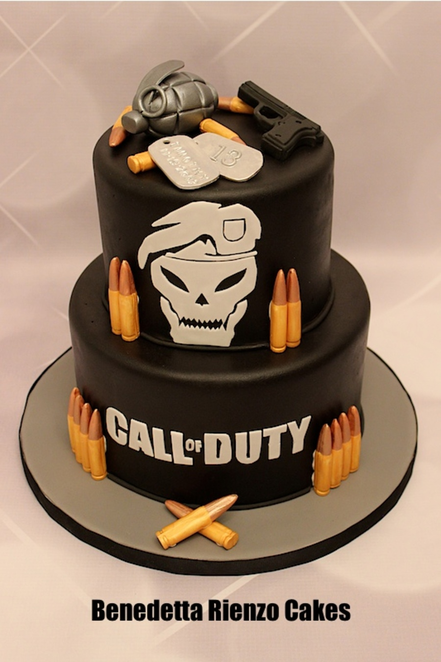 Call Of Duty Black Ops Birthday Cake Ideas