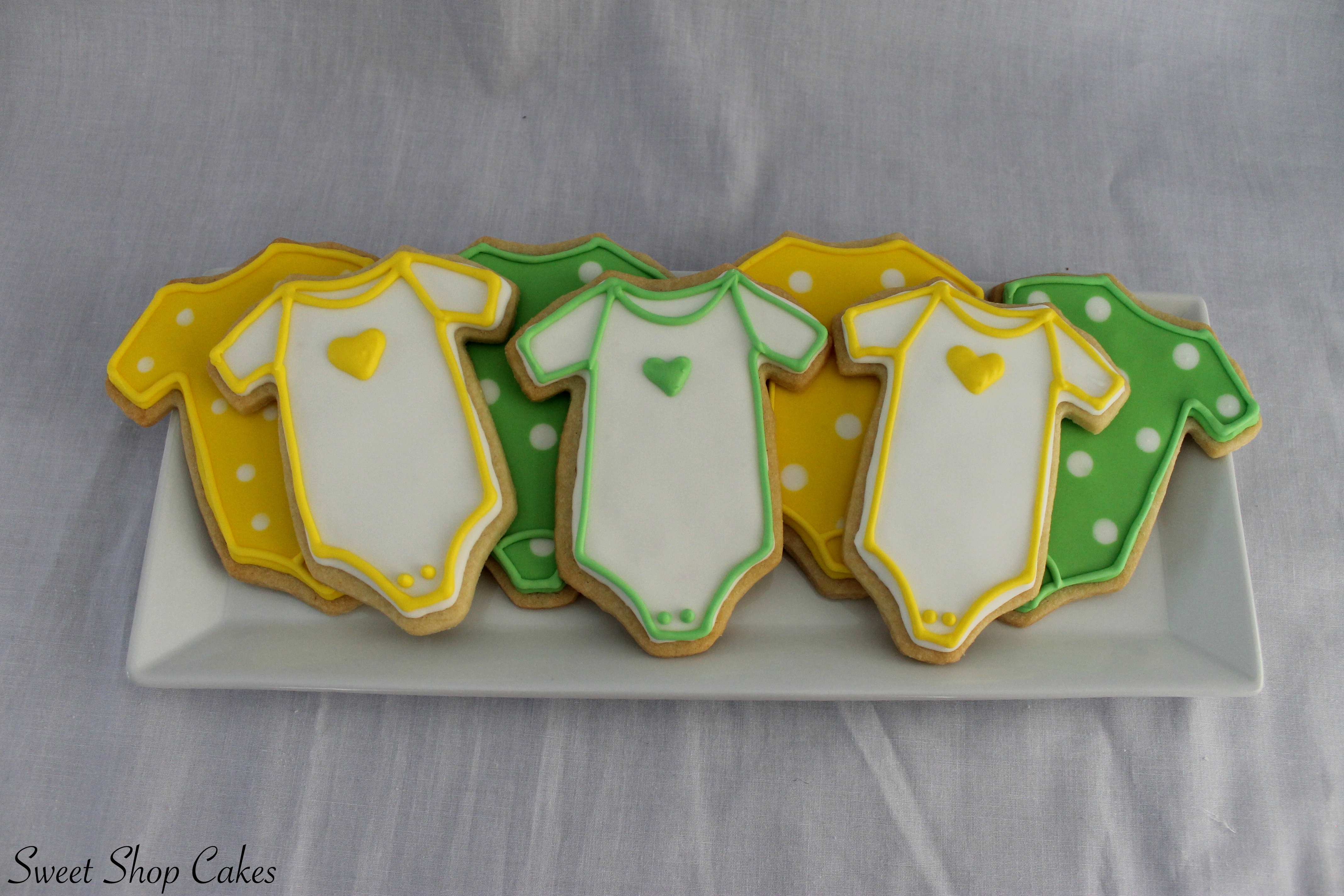 Gender Neutral Baby Shower Cookies Cakecentral Com