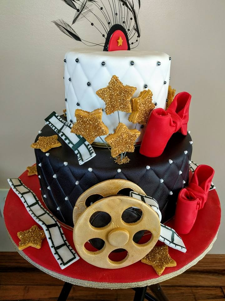 Sweet  Hollywood Themed Cakes
