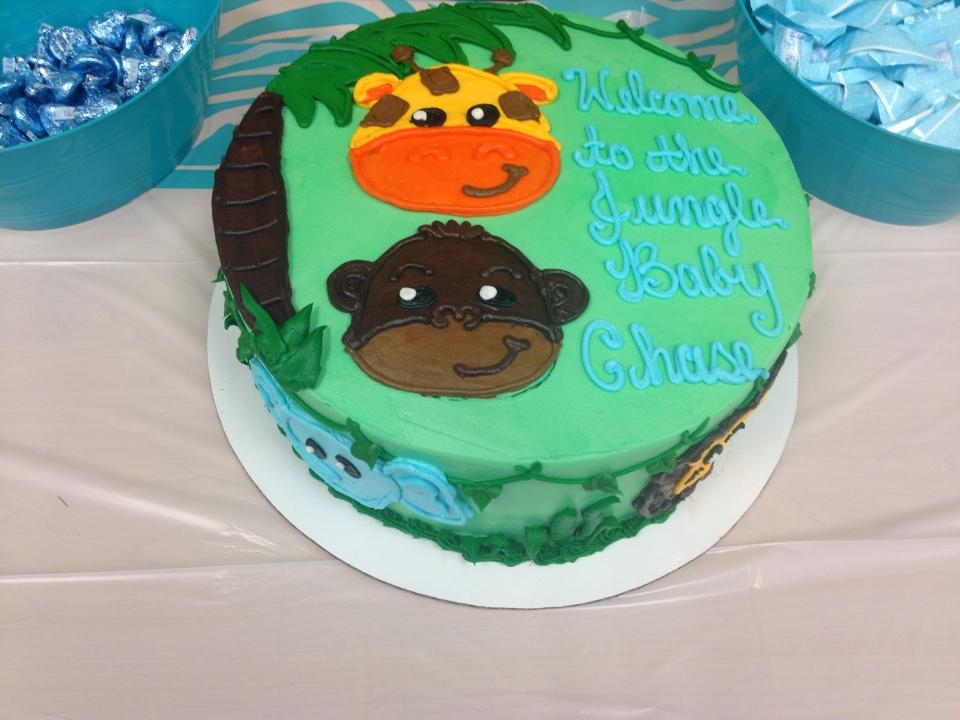 Jungle Theme Baby Shower Cake Cakecentral
