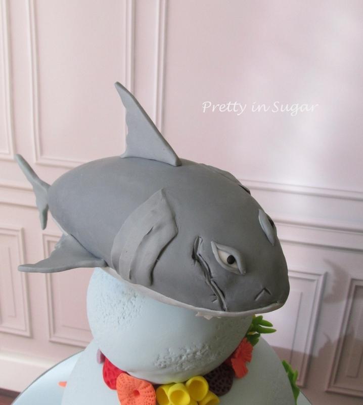 Megalodon | Hungry Shark Evolution - CakeCentral.com