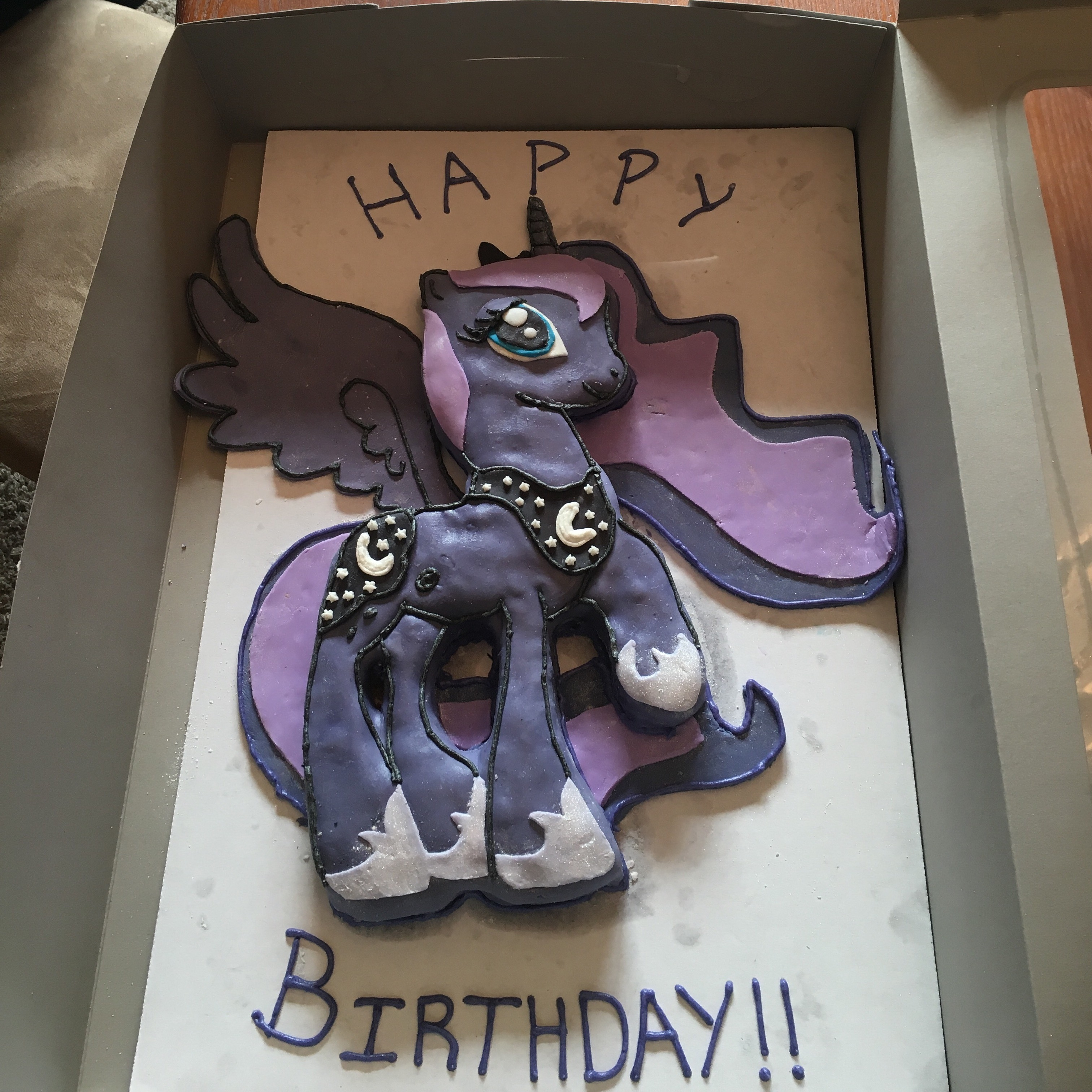 My Little Pony Luna on Cake Central