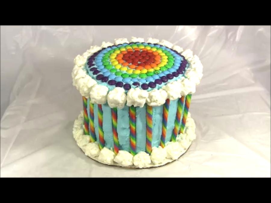 Each Layer Of Rainbow Cake Flavor