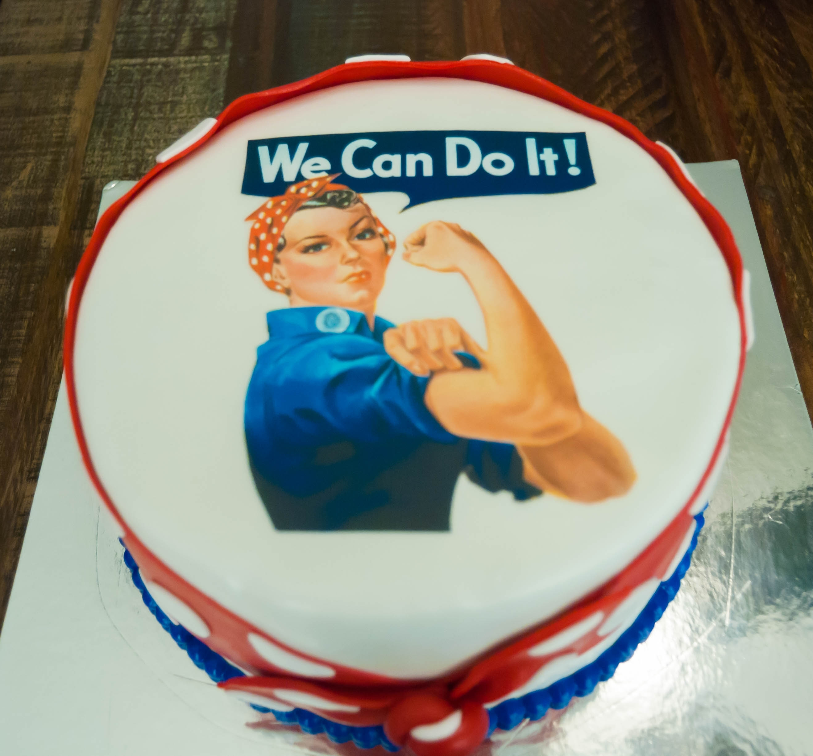 Rosie Cake Design : Rosie The Riveter - CakeCentral.com