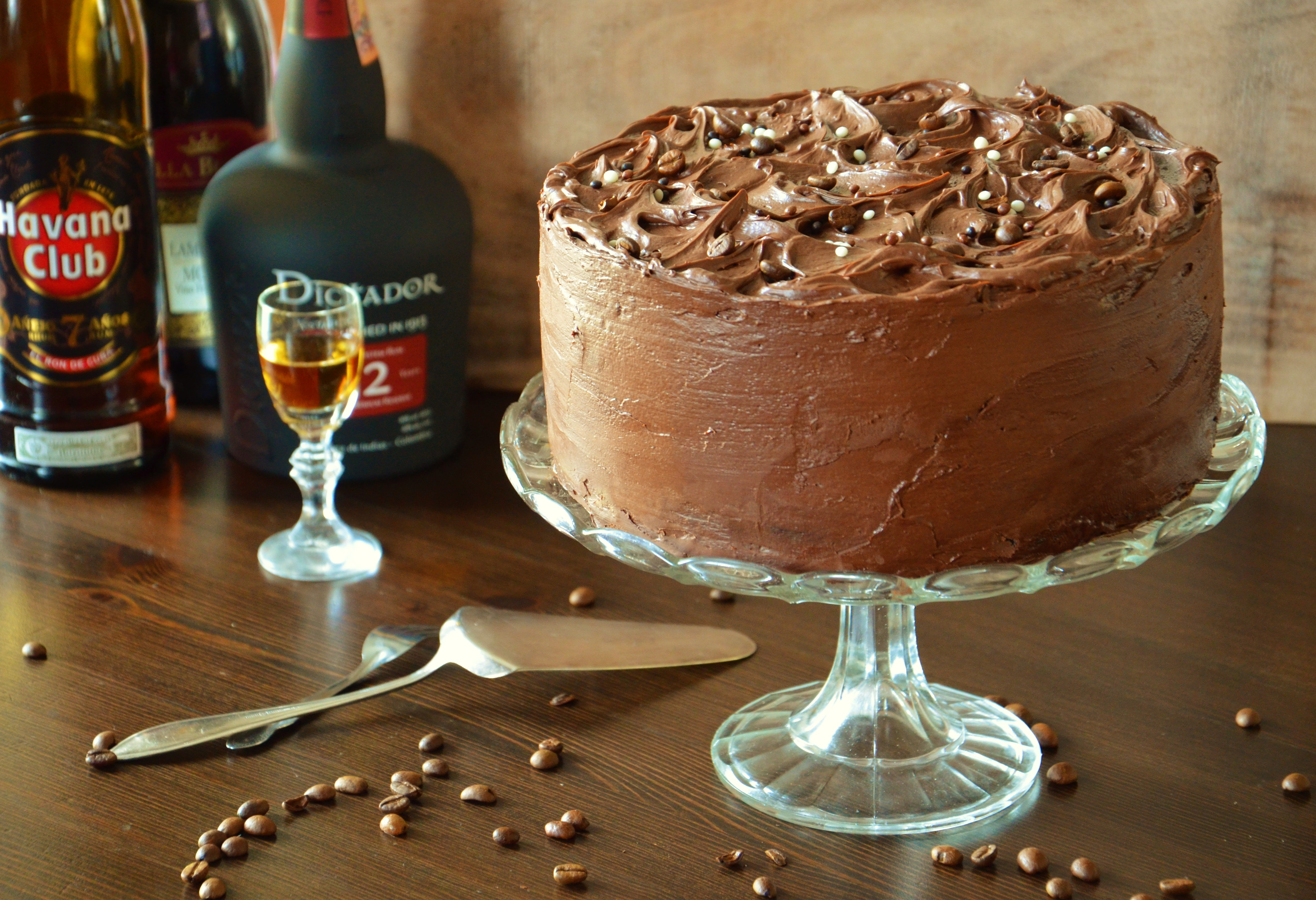 Rum And Coffee Cake on Cake Central