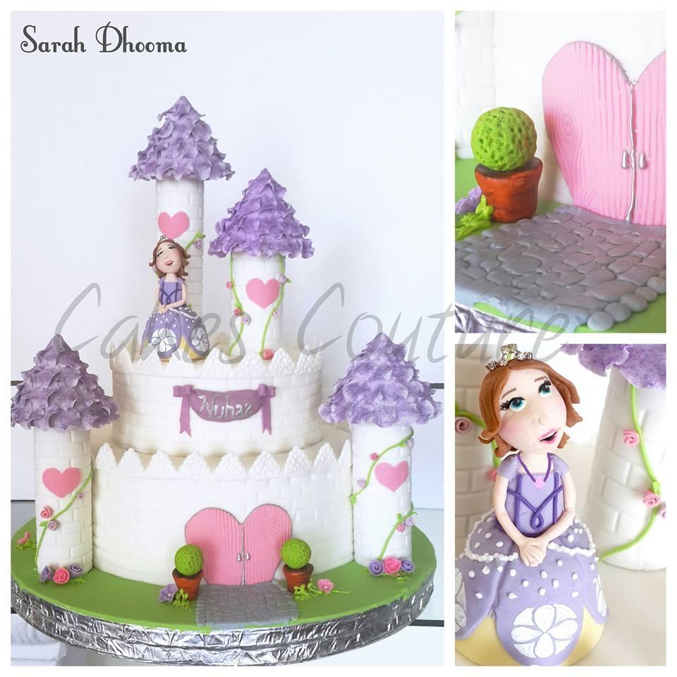 Sophia The 1st Castle Cake Cakecentral Com