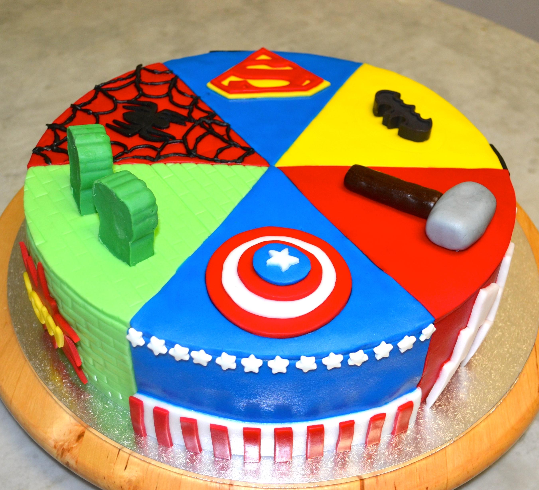 Superhero Cake Cakecentral Com