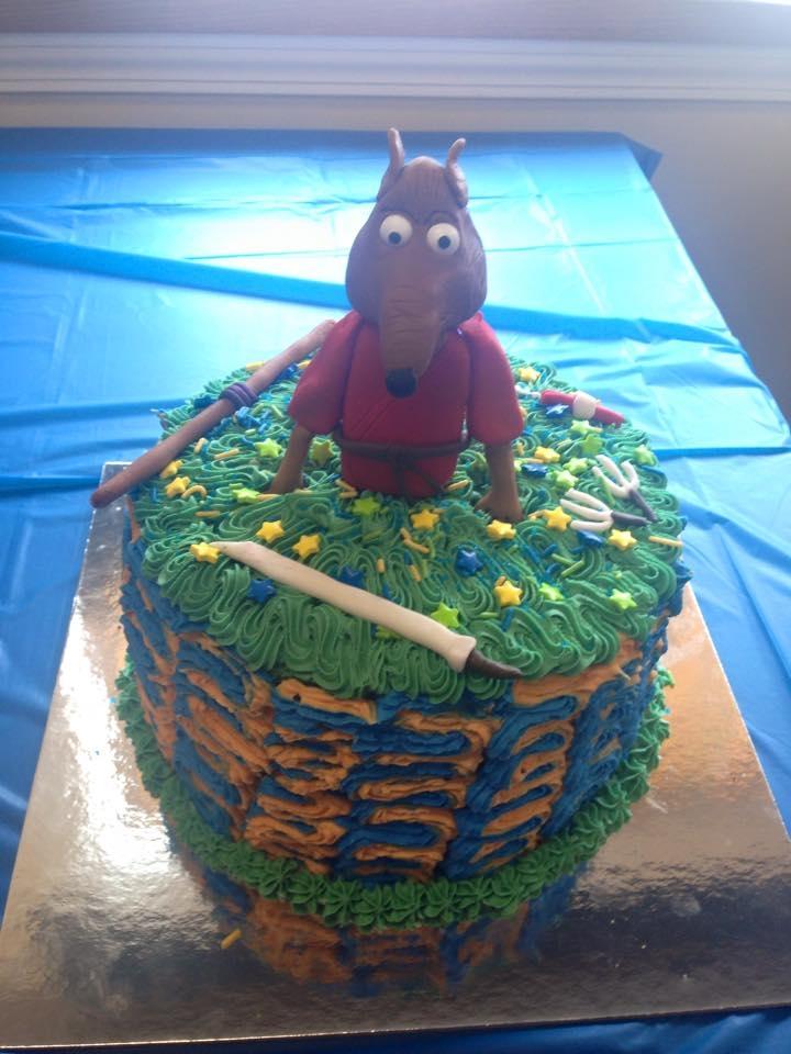 Tmnt Cake CakeCentralcom