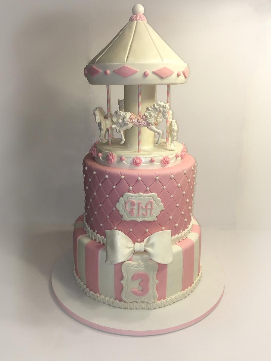 Carousel Cake Cakecentral Com