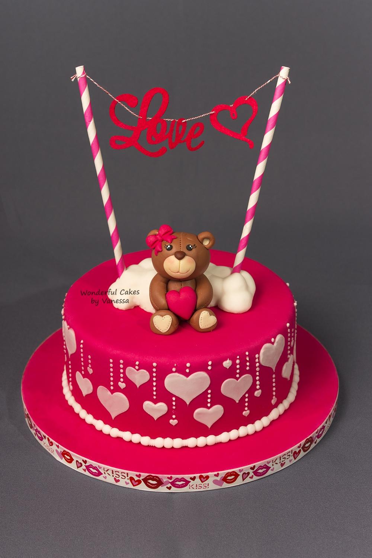 Valentine Cake Decorating Designs