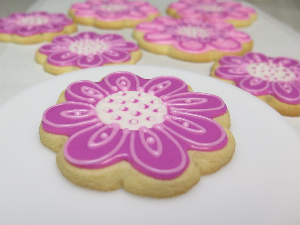 Springtime Flower Cookies Cakecentral