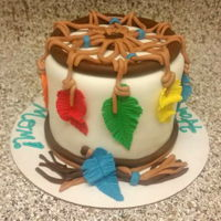 Dream Catcher This was a cake i made for my moms birthday this year! She has always been into western and indian things, and loves dreamcatchers! Making...
