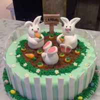 Easter Bunnys easter bunny cake