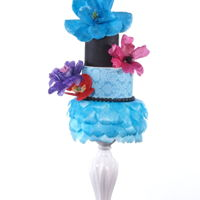 Fantasy Flower Cake one of my cake have been featured in http://cakecentralmagazine.com/volume-6-issue-4/2015/