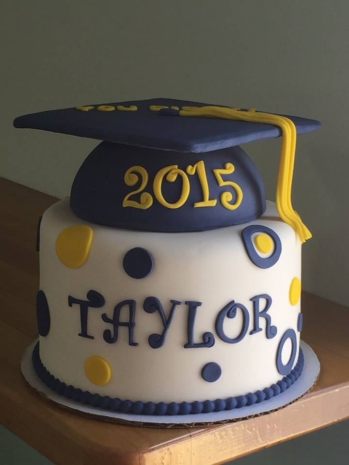 Graduation Cake By Andrea at CornerSpace Cakes