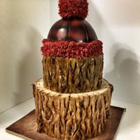 Lumberjack Cake bark tree