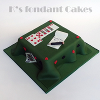 Playing Cards Cake Playing Cards Cake for a friend