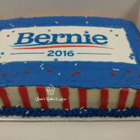 Political Cake Customer wanted something to support his candidate for the 2016 Presidential election