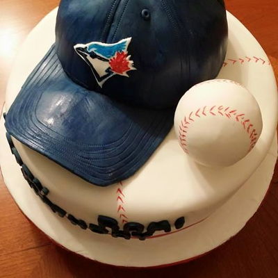 Blue Jays Birthday Cake