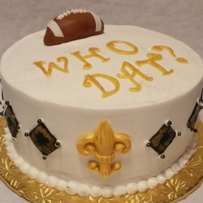 Excellent New Orleans Cake Decorating Photos Personalised Birthday Cards Cominlily Jamesorg