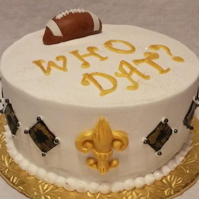 Cool New Orleans Cake Decorating Photos Personalised Birthday Cards Veneteletsinfo