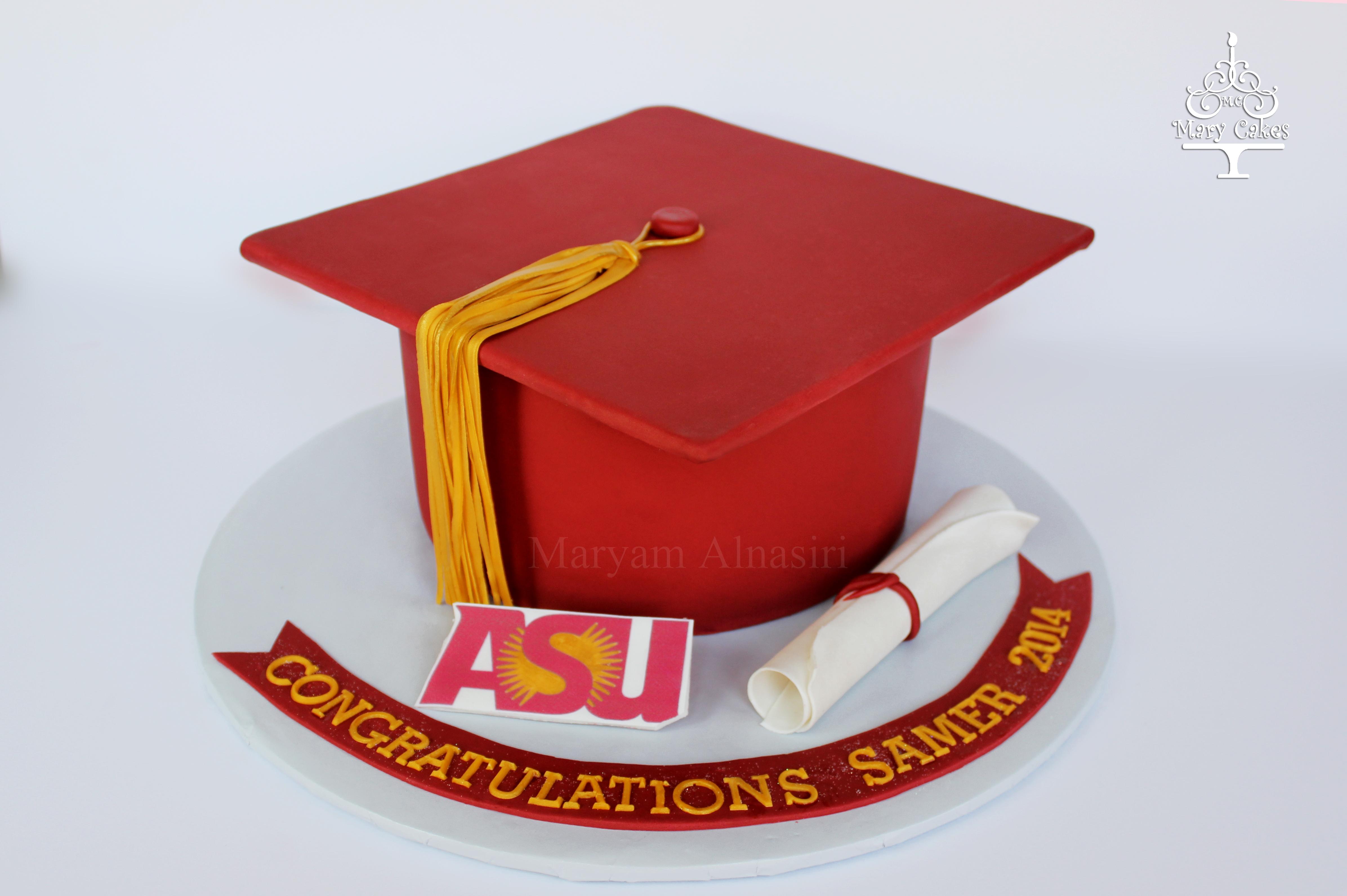 College Graduation Cake Images : High School Graduation Cake - CakeCentral.com