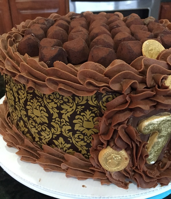 75Th Birthday Celebration In Chocolate