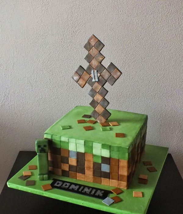 minecraft cake decorating photos. Black Bedroom Furniture Sets. Home Design Ideas