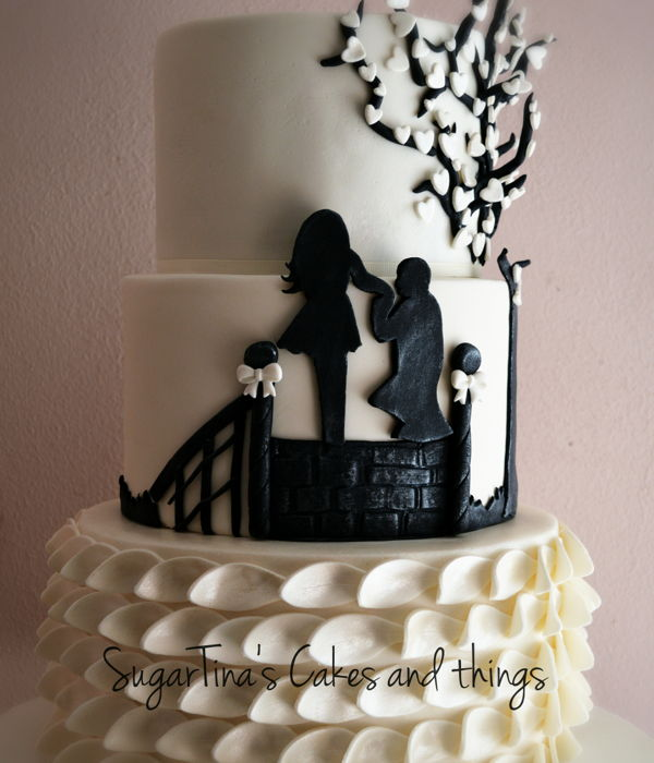 Proposal Of Marriage On Wedding Cake!!