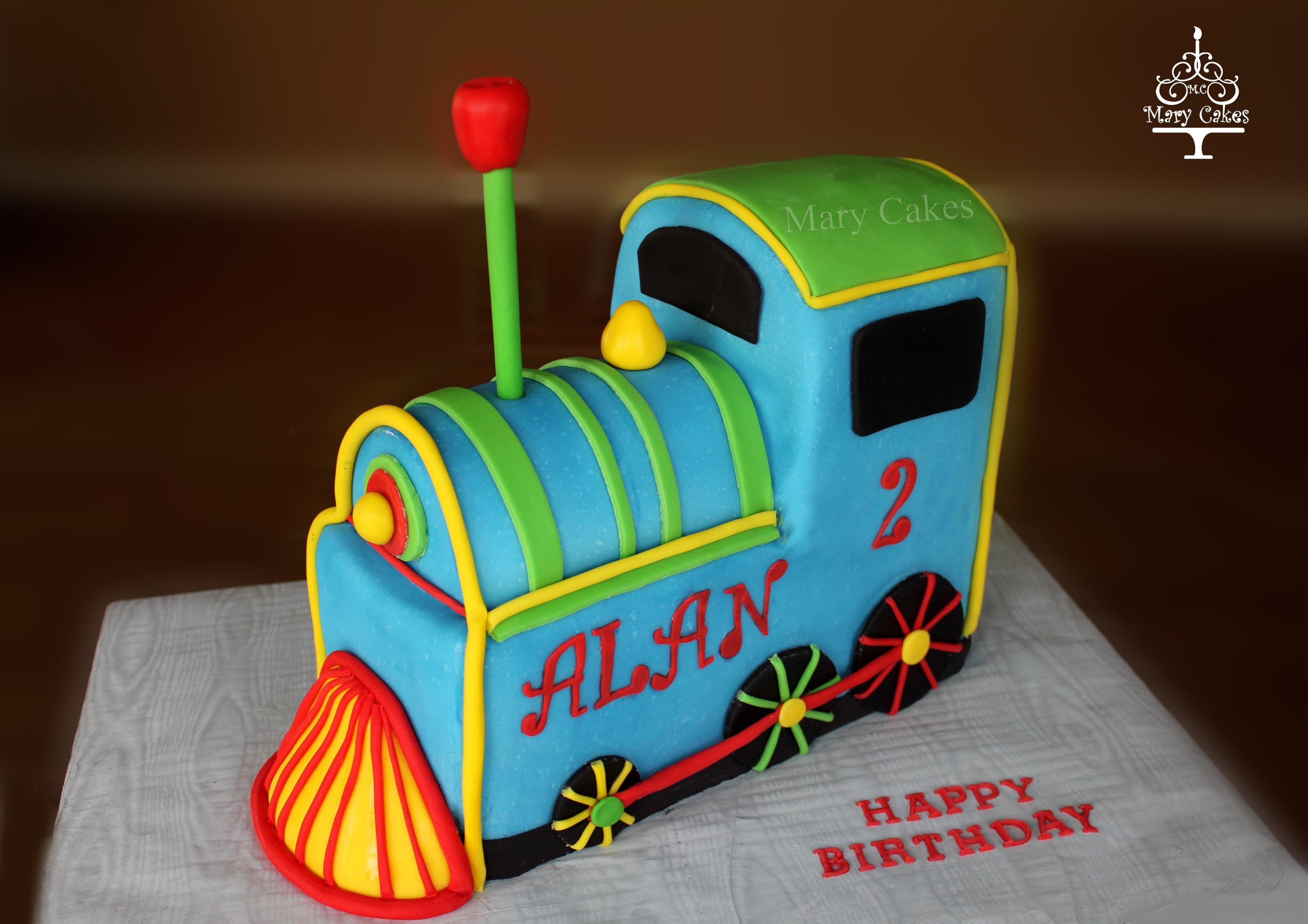 Birthday Train Cake Recipe