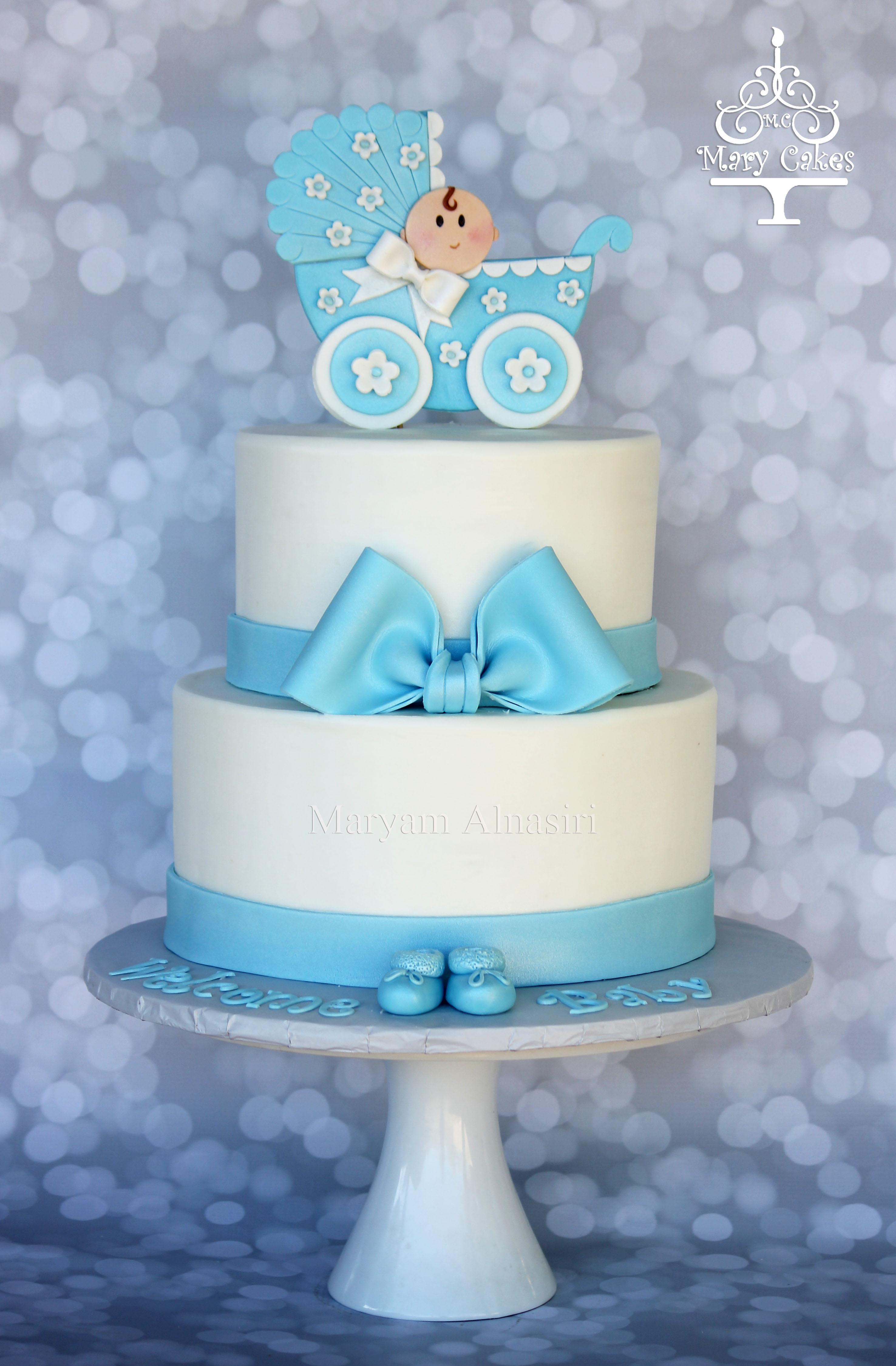 Baby Shower Cake Carriage Cakecentralcom