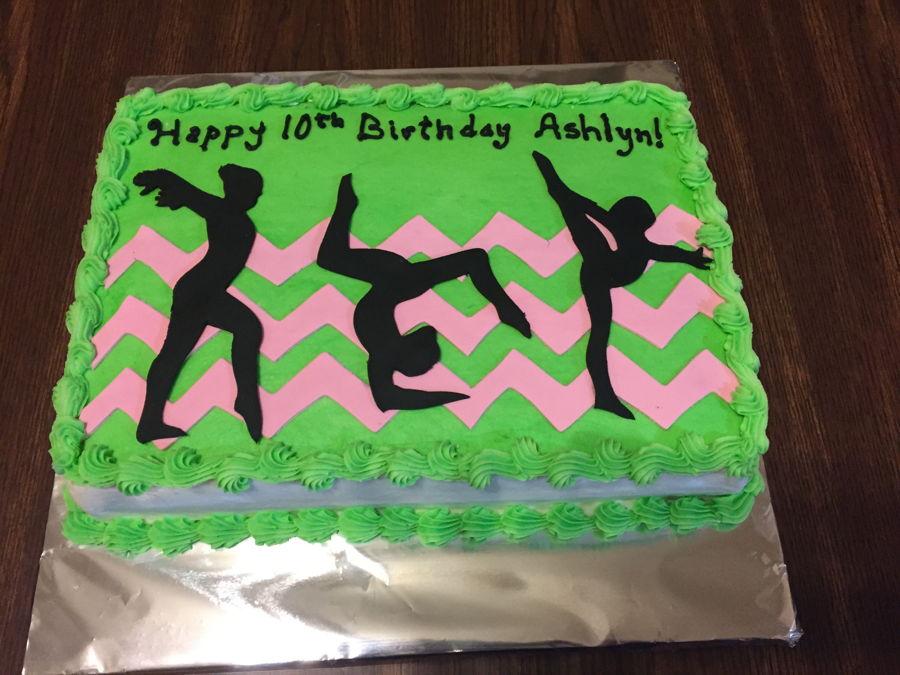 Birthday Cake Gymnastics Cakecentral