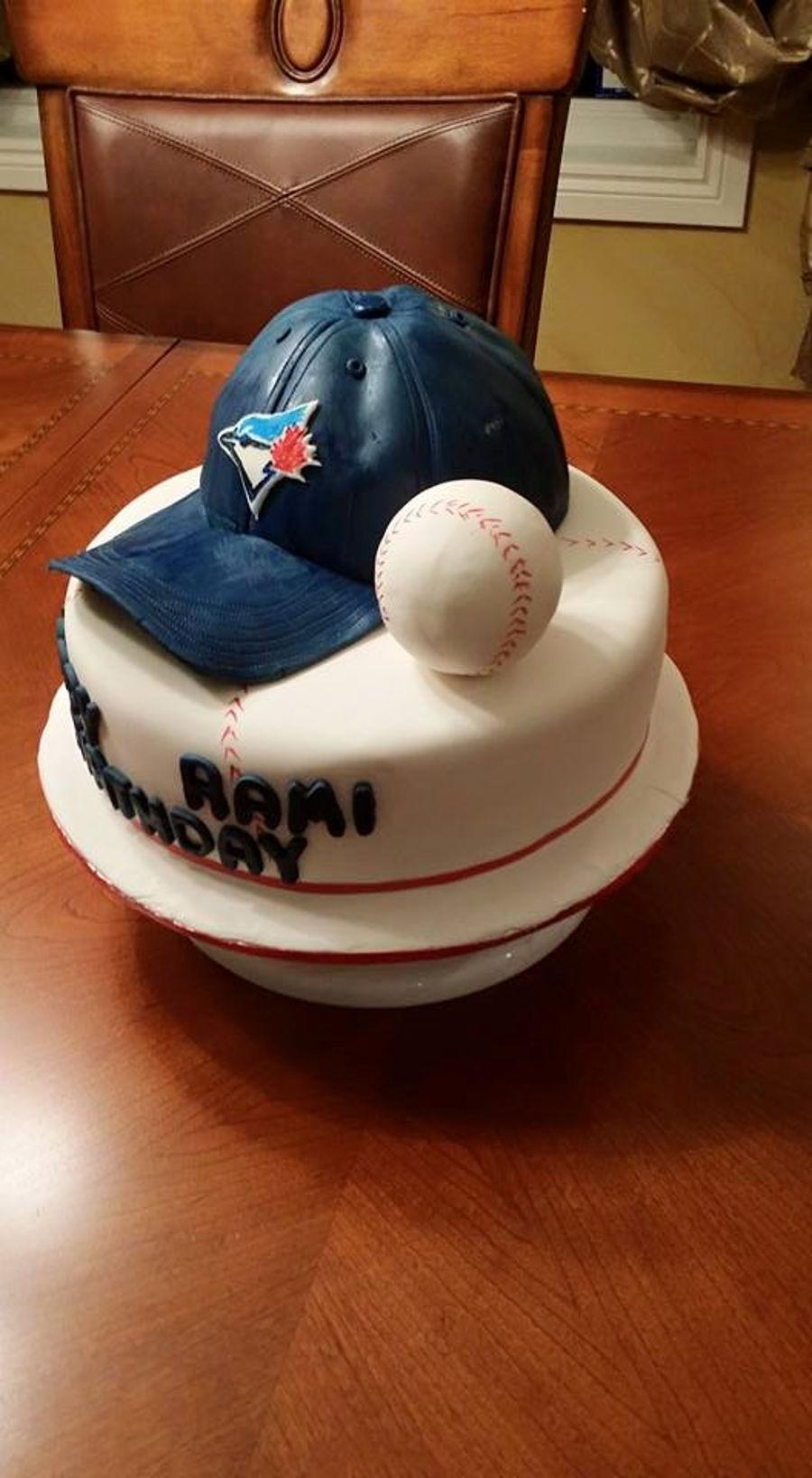 Blue Jays Birthday Cake CakeCentralcom