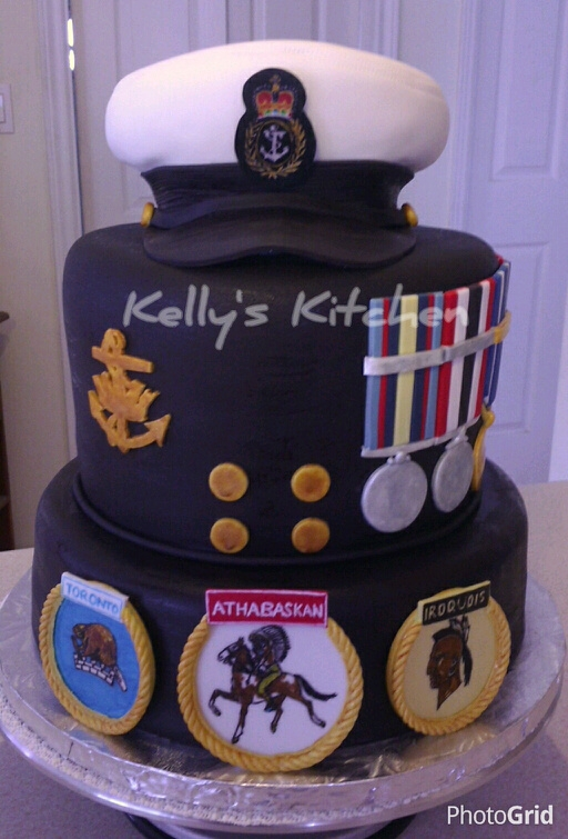 Canadian Navy Retirement Cake Cakecentral Com