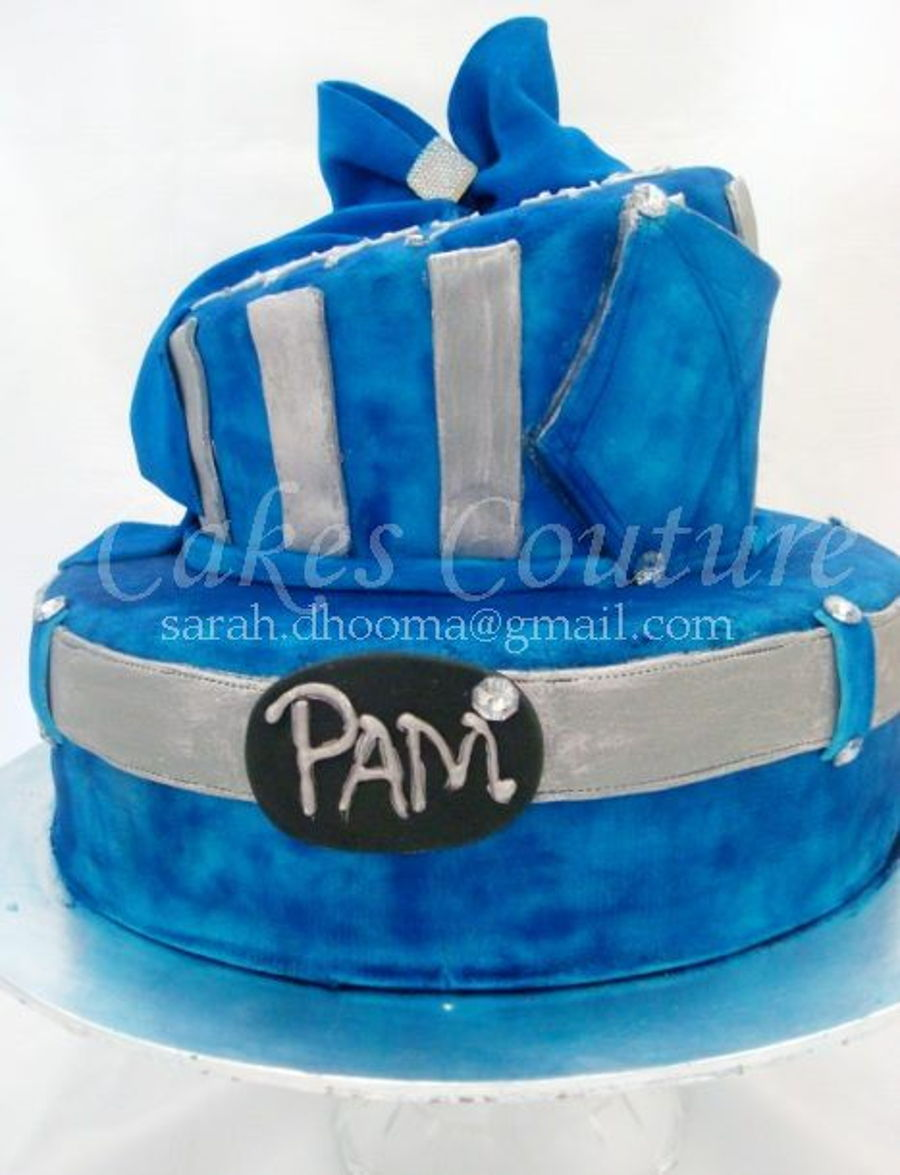 Denim And Diamonds Birthday Cake Cakecentral Com