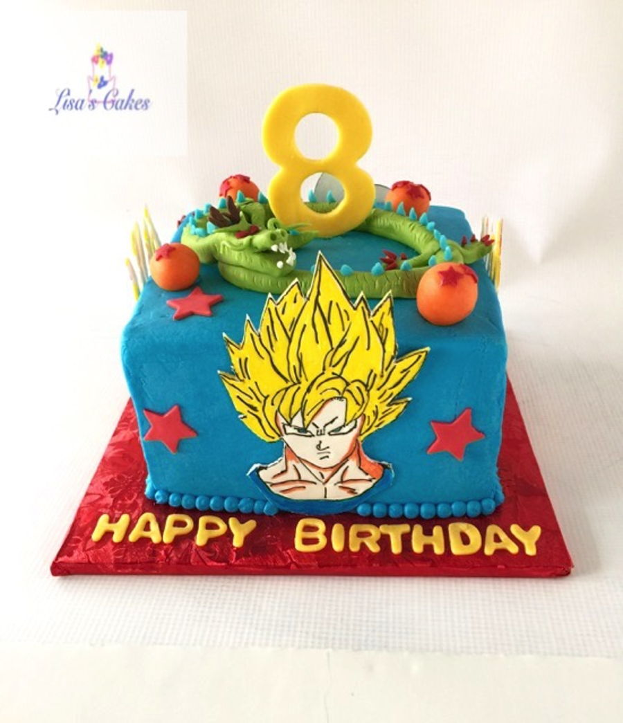 Dragon Ball Z Birthday Cake Toppers