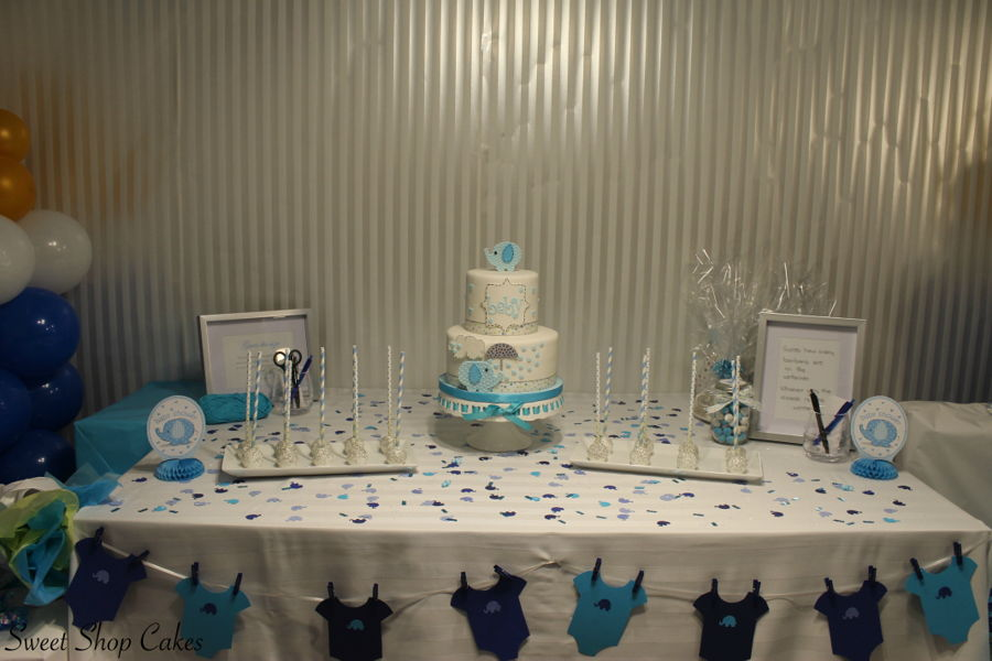 Elephant Themed Baby Shower Cakecentral